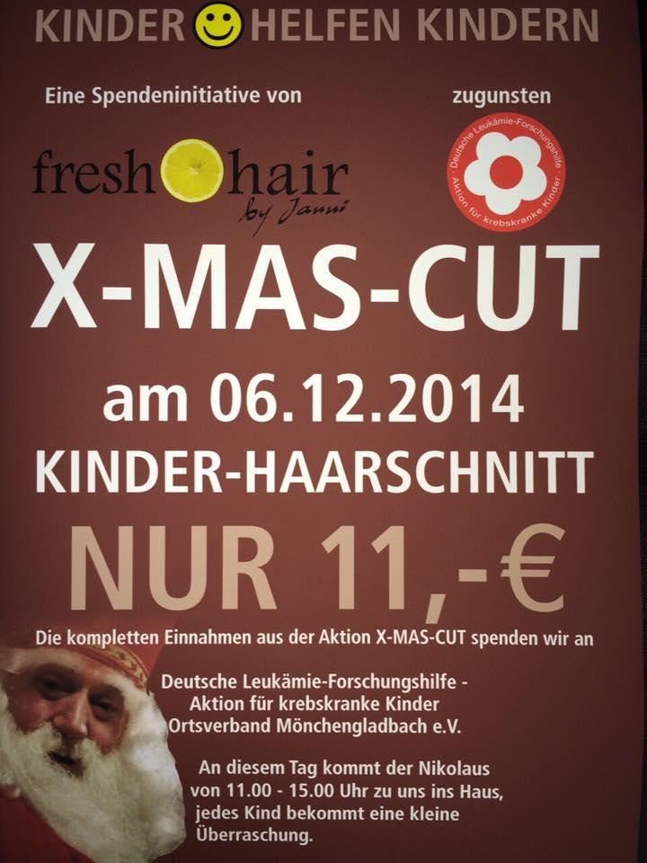 Plakat zur Nikolausaktion